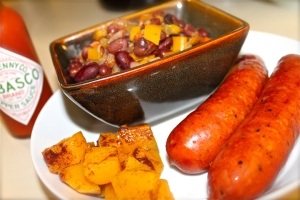 Beans & Rice, Butternut Squash, and Andouille